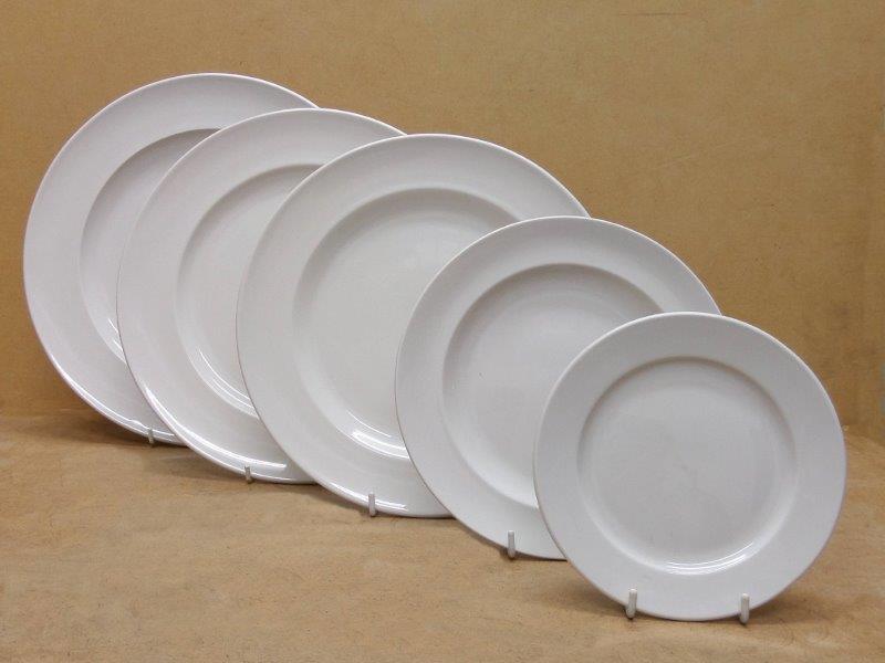 WINGED RIM PLATES & Hospitatility Hotelware