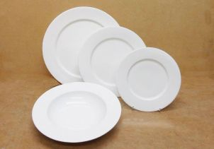 Bone China & Welcome to Denton Tableware Hospitality Hoteware
